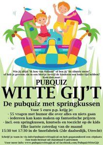 Pubquiz Utrecht - Witte Gij't